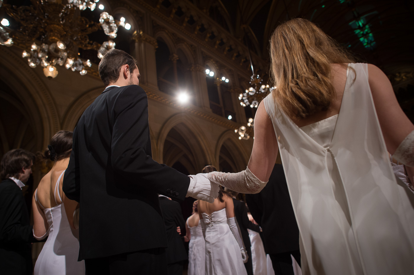 Ball der Wissenschaften, Vorbereitungenm, Tanzen, Catering, Credit: David Bohmann - PID
