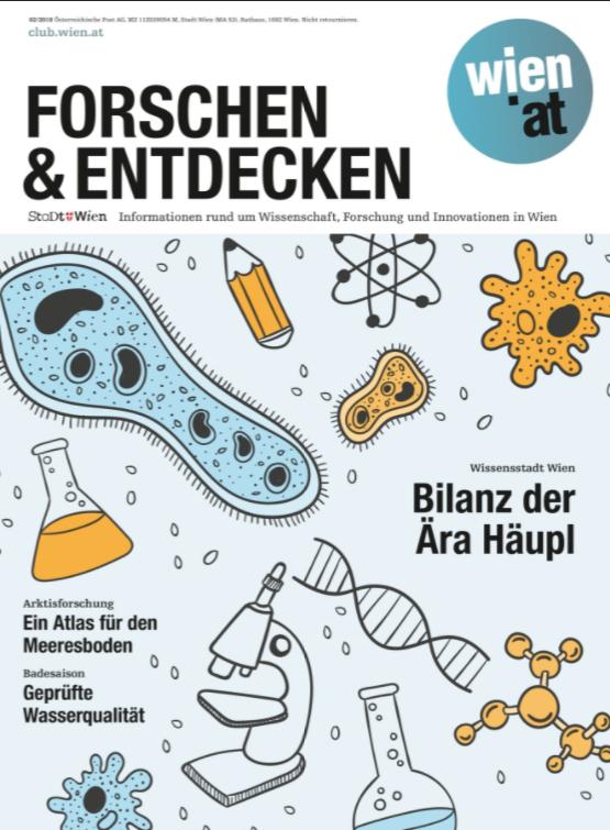 """Cover """"Forschen und Entdecken"""" Ausgabe 02/2018"""