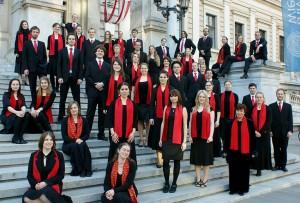 Der Uni-Chor singt um Mitternacht