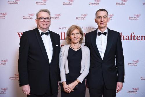 Karin Knieke, Ralf Beste (deutscher Botschafter in Wien)