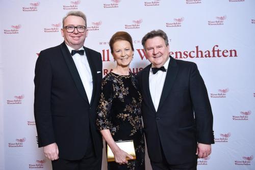 Irmtraud Rossgatterer, Bürgermeister Michael Ludwig