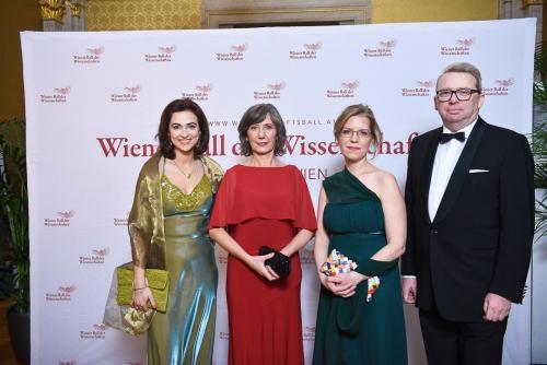 Bundesministerin Alma Zadić, Vizebürgermeisterin Birgit Hebein, Bundesministerin Leonore Gewessler