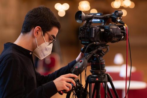 Vier Kameras sind im Einsatz