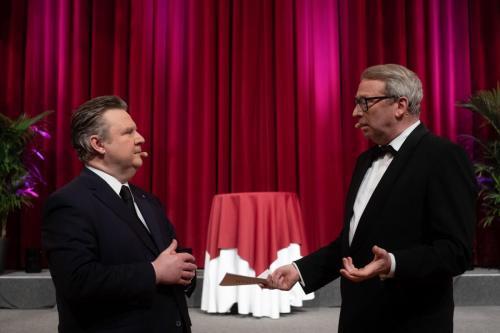 Bürgermeister Ludwig und Ballorganisator Lehmann planen den 8. Wissenschaftsballs am 29.1.2022