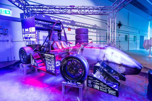Der Bolide des OS.Car Racing Teams / © FH Campus Wien Kopie